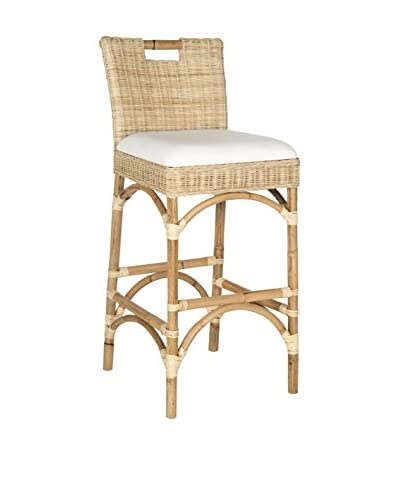 Safavieh Fremont Barstool, Natural Coating
