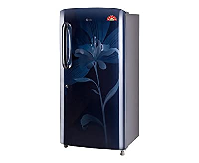LG GL-B201AMLN Direct-cool Single-door Refrigerator (190 Ltrs, 5 Star Rating, Marine Lily)