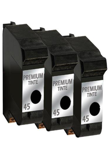 Druckerpatrone Drucker Patrone für 3x HP 45 Tintenpatrone DeskJet 970C, 970CSE, 970CXI, 980C, 980CXI, 990C, 990CM, 990CSE, 990CXI, 995C