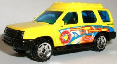 matchbox-nissan-xterra-169-scale-diecast-model-car-2000