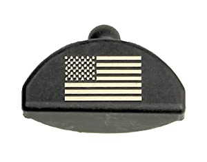 Sure Plug Gen 4 Laser Engraved US Flag - Designed for Glock 17, 19, 22, 23, 31, 32, 34, 35, and 37