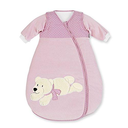 sterntaler-velour-sleeping-bag-with-sleeves-ella-the-polar-bear-90-cm
