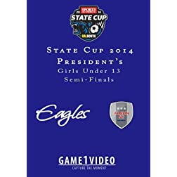 Championship Youth Soccer State Cup 2014 Presidents?s GU13 Game 198454