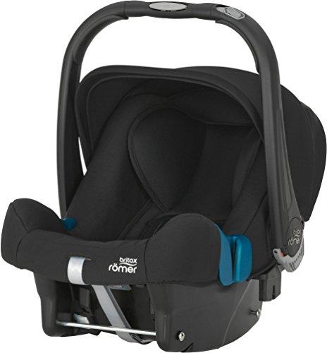 Britax Römer Babyschale Baby-Safe plus SHR II, Gruppe 0+ (Geburt - 13 kg), Kollektion 2016, Cosmos Black