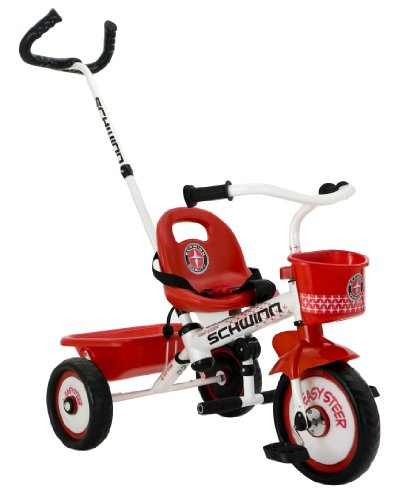 Schwinn Easy Steer Tricycle, Red/White front-11971