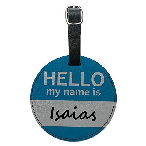 isaias-hello-my-name-ist-rund-leder-gepack-id-tag-koffer-handgepack