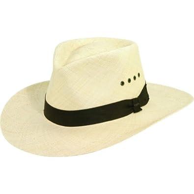 Scala Hats Panama Outback Hat (NATURAL-XL)