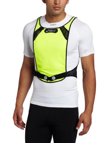 ASICS Asics Men's Reflector Vest, Utility/Grey, Large/X-Large
