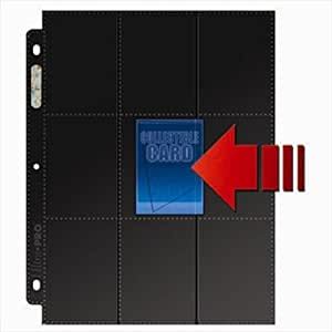 Ultra Pro 3-Hole Side-Load 18 Pocket Pages - 50