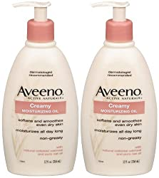 AVEENO ACTIVE NATURALS CREAMY MOISTURIZING OIL - 354ML (12oz)
