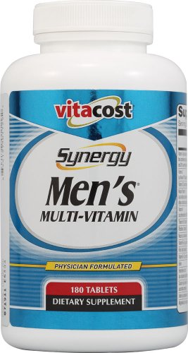 Vitacost-Synergy-Mens-Multi-Vitamin-180-Tablets