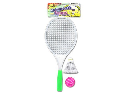 Badminton & Tennis Play Set Kids Children by bulk buys günstig online kaufen