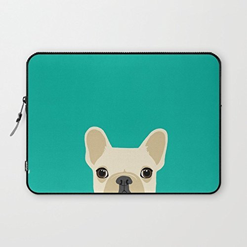 2buymore Custom Laptop Sleeve Case Cover Bag Water Resistant for 13 inch French Bulldog (Twin Sides) (Bulldog Laptop Case compare prices)