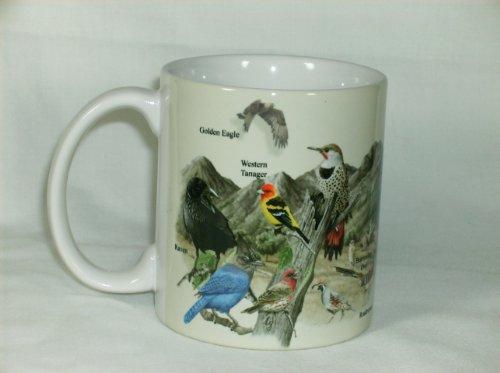 Western Birds Ceramic 11 Ounce Coffee Mug Or Tea Cup