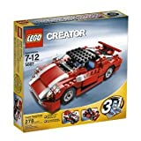 41a7mu0lbOL. SL160  LEGO Creator Red Car (5867)