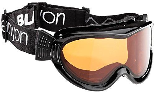 Black Canyon Skibrille für Brillenträger, schwarz, BC1265