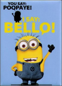 Despicable Me Say Bello! Magnet DM4952