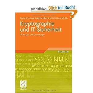 eBook Cover für  Kryptographie und IT Sicherheit Grundlagen und Anwendungen eine Einf uuml hrung
