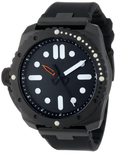Vestal Men's RSD3S02 Restrictor Diver 50 Black Watch
