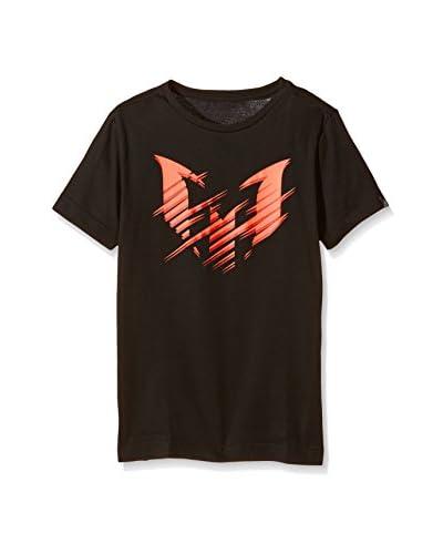 adidas T-Shirt Manica Corta Messi Logo Graphic T-  [Nero]