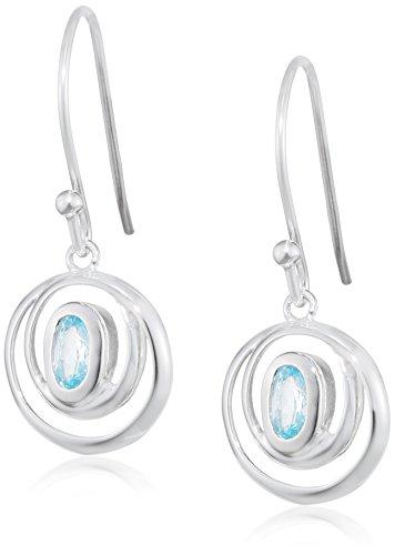 elements-damen-ohrhanger-925-sterling-silber-kristall-blau-topas-blau-e4420t