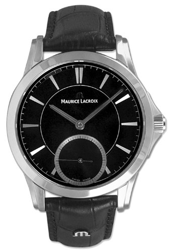 Maurice Lacroix Pontos Manual Wind Stainless Steel Mens Watch pt7518-ss001-330
