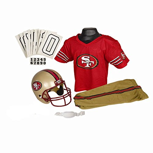 Franklin Sports NFL Team Licensed Youth Uniform Set - San Francisco 49ers