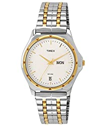 Timex Classics Analog Silver Dial Mens Watch - BW04