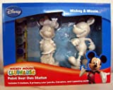 Disney Mickey Mouse and Minnie Mouse Paint Your Own Statue