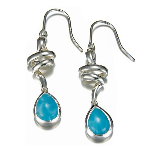 MarahLago - Larimar Hydra Earrings