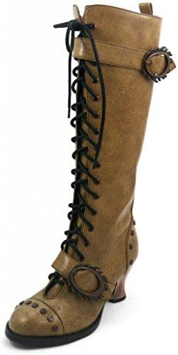 Womens-Hades-Vintage-Boot-Mustard