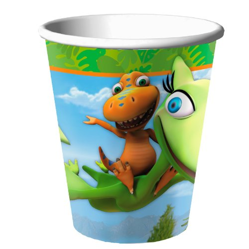 Dinosaur Train - 9 oz Paper Cups (8) Party Accessory