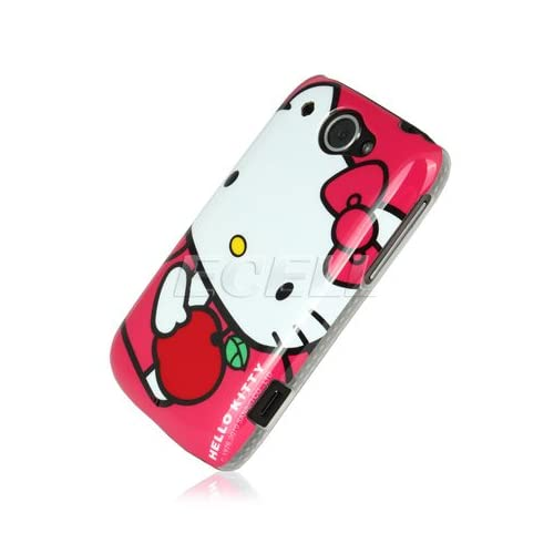 SANRIO HELLO KITTY BACK CASE COVER FOR HTC WILDFIRE Electronics