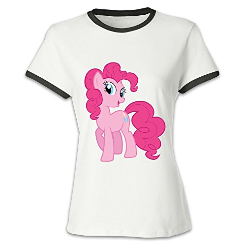 CHALZ Women's My Little Pony Logo O-Neck T Shirt