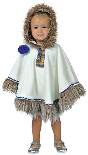 Littl (Eskimo Costume Makeup)