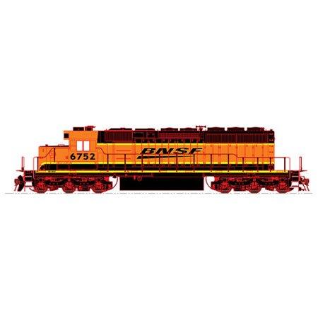 HO SD40-2, BNSF/Wedge #6752