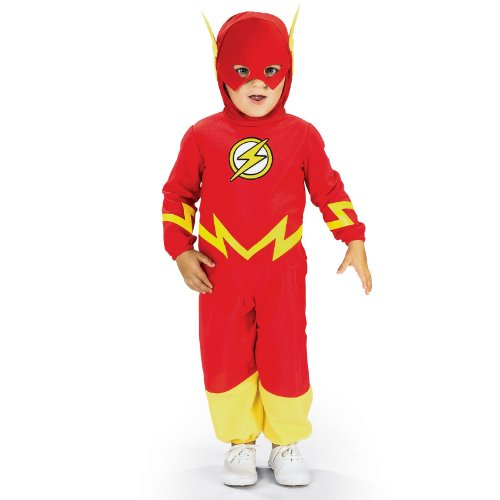 Comic Book Super Heroes Kids Costume The Flash (Child Toddler Size) #885210