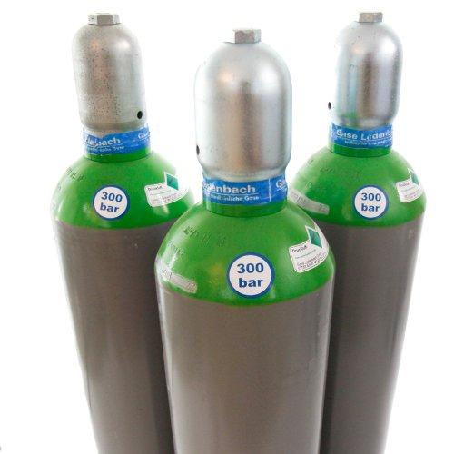 Druckluftflasche 50 Liter 300 bar TÜV 2023 Pressluftflasche für Gotcha Tauchen Luftgewehr oder Luftpistole