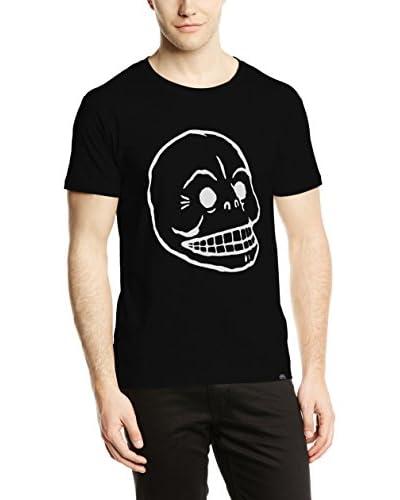 Cheap Monday Camiseta Manga Corta Standard Tee Skull Negro