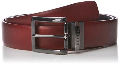 ESPRIT 096EA2S001, Cintura Uomo, Rosso (GARNET RED), XX-Large (Taglia Produttore: 100)