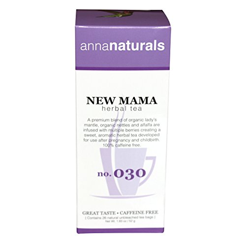 Anna Naturals - Organic Postpartum Herbal Tea - With Lady's Mantle - 1.83 oz (Anna Naturals compare prices)