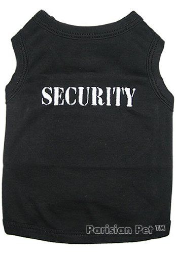 Dog T-Shirt - SECURITY - Extra-Large