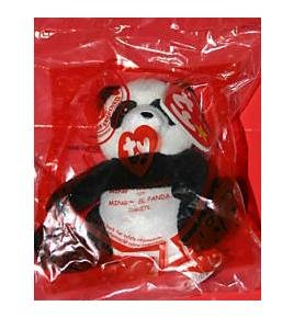 TY McDonald's Teenie Beanie - #20 MING the Panda (2009) - 1