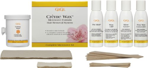 Gigi Cream Wax Microwave Kit