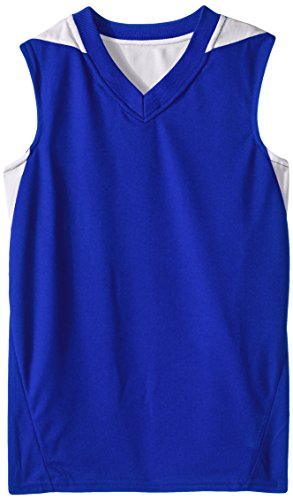 Teamwork Youth Turnaround Reversible Basketball Jersey, Large, Blue/White (Light Blue Basketball Jersey compare prices)