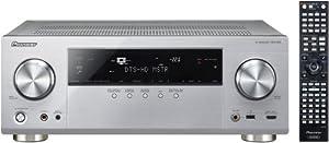 Pioneer VSX-923-S 7.2 AV-Receiver (Airplay, Steuerung via App, DLNA, HTC Connect, MHL, vTuner Webradio, Gappless Wiedergabe, HDMI-CEC, 3D, 4K Ultra HD Video Scaler) silber