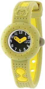 Baby Watch Mädchen-Armbanduhr Analog grün Nano candy kaki