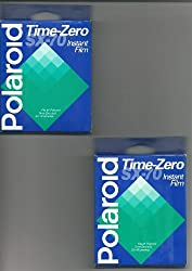 Polaroid Time-Zero SX-70 - Color instant film 10 pack