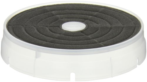 Janitized Jan-Hvf049 Foam Premium Replacement Commercial Vacuum Filter, For Clarke, Euroclean/Kent, Karcher/Tornado, Nilfisk-Advance, Nss, Windsor Wave And Nuwave Flat Vacuum Motor Filter (Case Of 50)