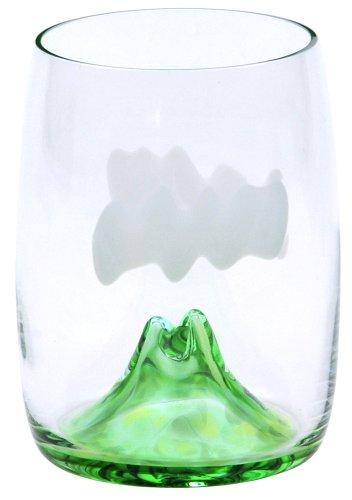 月夜野工房 夕焼けのやま ビールグラス TCB-15